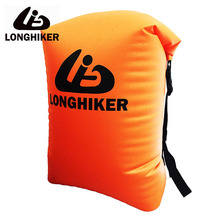 20L LONGHIKER Sport Hermetic Swimming Waterproof Bag Backpack Pouch For Diving Swim Beach Impermeable Water Proof Bag Ocean Pack 12l inflatable pvc hermetic dry waterproof bag pouch ocean pack for swimming water proof bag impermeable backpack swim buoy
