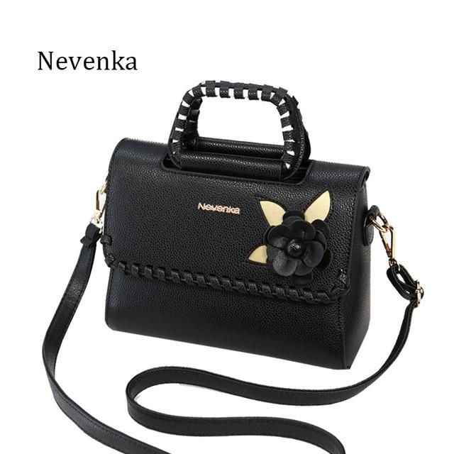 Nevenka Fashion Women Bag Fresh Ladies Handbags Casual Crossbody Flap PU Messenger Bags Dress Evening Bag Teenagers College Sac
