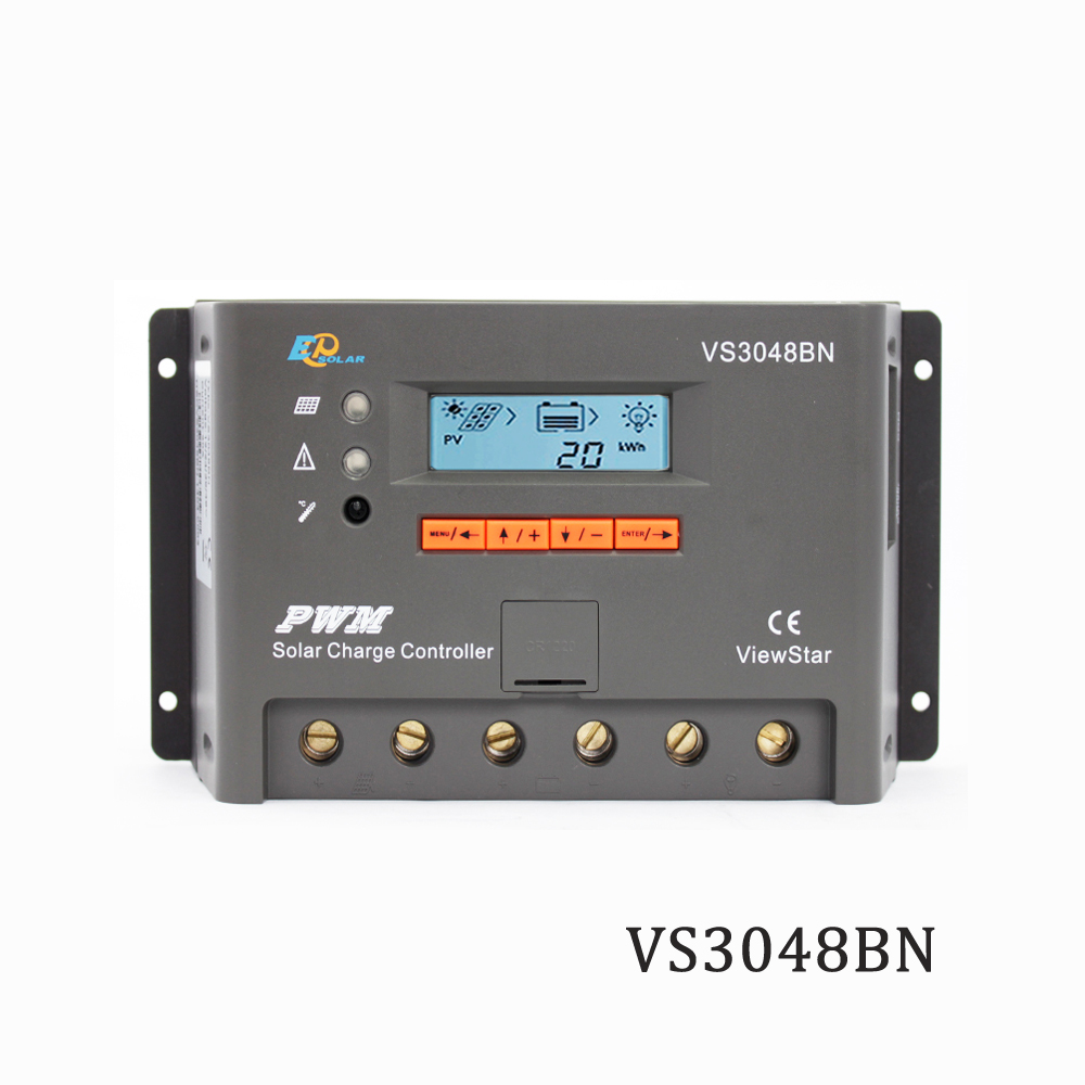 Viewstar VS3048BN 30A 12V 24V 36V 48V PWM Programmable Solar Panel Charger Charger Batterys support MT50 WIFI BluetoothViewstar VS3048BN 30A 12V 24V 36V 48V PWM Programmable Solar Panel Charger Charger Batterys support MT50 WIFI Bluetooth