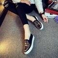 Обувь Женщина Женщины Беременные Обувь ткани обувь Квартиры Мокасины Поскользнуться На женщин Плоские Туфли Sapato Feminino D27