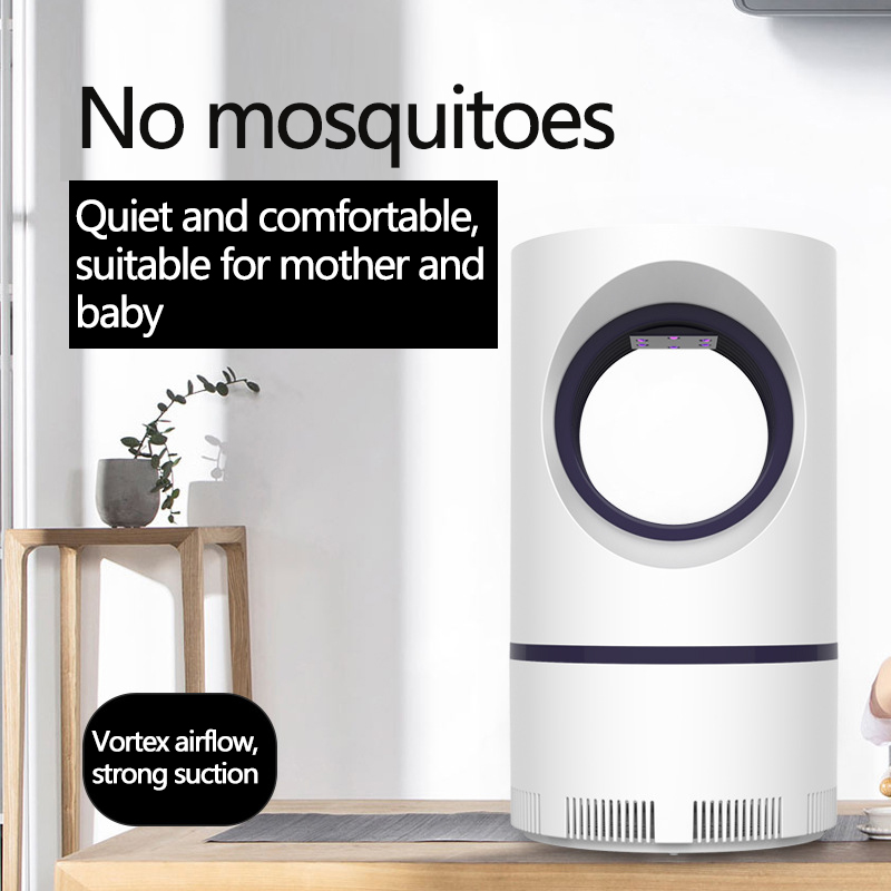 New Photocatalyst USB Mosquito Light Home LED Mosquito Killer Capture Light electric mosquito Room Pest Control(China)