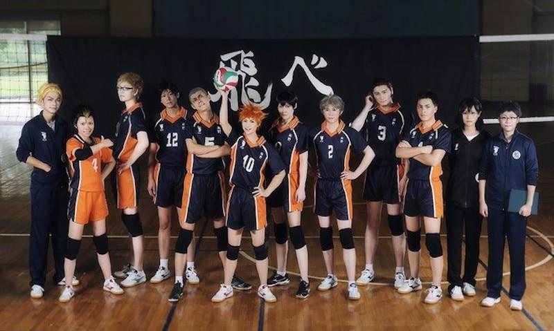 Karasuno High School Uniform Cosplay Daichi Sawamura Hemd Shorts Haikyuu!