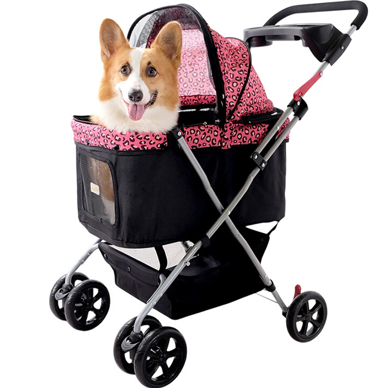 French Style Dog Carrier Cart Dog Walking/Shopping ...