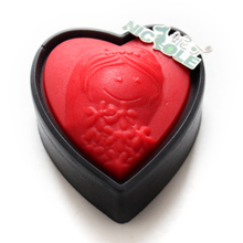 Nicole  Silicone Love Heart Soap Mold For Chocolate Cake Decorating DIY Clay Resin Craft Tool