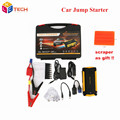 Multi Function 16000mah Car Charger High Capacity 12V Car Jump Starter 4USB Power Bank Current Car Jump Starter SOS Lights
