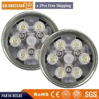PAR36 Led Tractor lights For new holland CASH ih led work lights 12v 24V Front Led headlights RE336111 led Sealed beam x2pcs