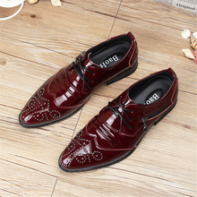 2017 New Luxury Men Dress Shoes Genuine Leather Pointed Toe Crocodile Vintage Loafers Oxfords Wedding Shoes Men Flats For Office