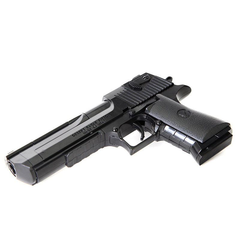 Desert Eagle DIY Building Blocks, Children's Toys Plastic Assembly Guns, Inspire Intelligence Model Toys