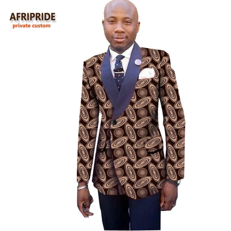 96b34f7b9 2018 estilo africano traje abrigo privado personalizado ropa de hombre moda  patrón bazin riche alta ...
