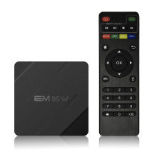 Amlogic s905w 4 ядра 2 ГБ 16 ГБ Android 7.1 ТВ Box 2.4 ГГц Wi-Fi 100 м LAN Mini PC H.265 vp9 HDR media player em95w PK x96 мини(China)