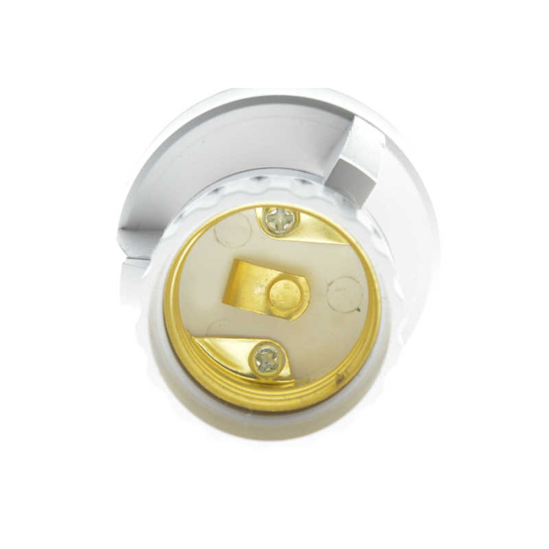 Ajustable 360 Degrees PIR Motion Sensor IR Infrared Human E27 Plug Socket LED Light Control Switch E27 Base Lamp Holder
