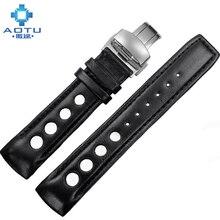 Cuir de vachette Bracelet Pour Tissot 1853 T044 Hommes Sport Série montre Bracelet 20 MM Casual Montre Bande Pour Tissot Correas Par Reloj
