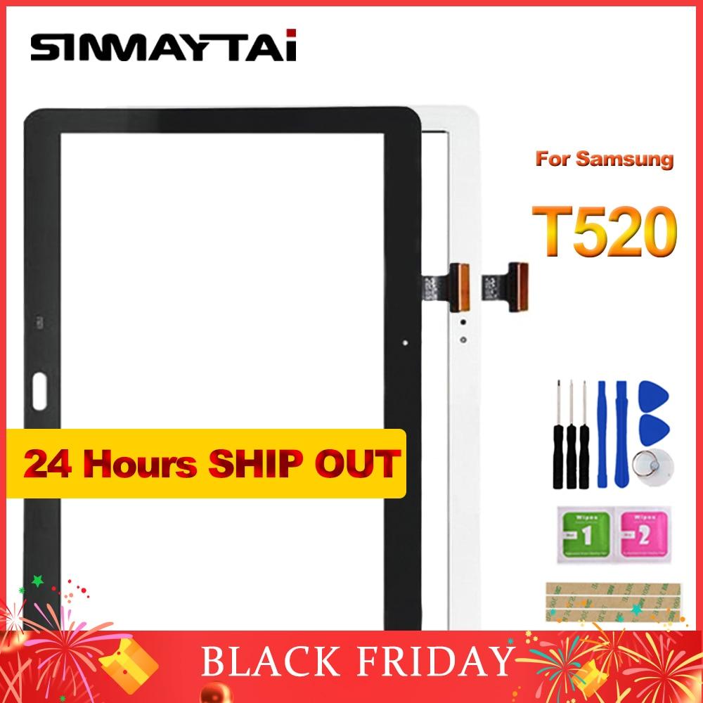 Nouveau T520 Écran Tactile Digitizer Verre Pour Samsung Galaxy Tab Pro SM-T520 T520 T525 10.1 pouce Écran avec Ruban Adhésif outils