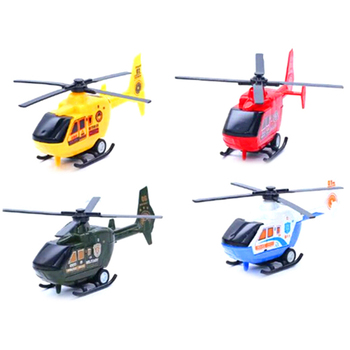3styles Planes Diecasts Vehicles Toy Kids Warplane Helicopter Model Airplane Toy For Children image