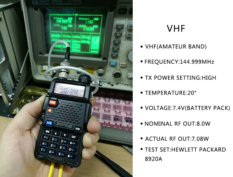 UV-5R 8W 2800 VHF