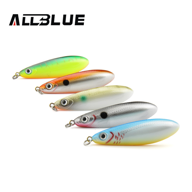 Allblue spoon minnow saltwater anti hitch for Airbrushing fishing lures