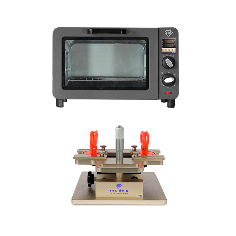 TBK-230 TBK-928 Mini Electric Heating Air Blow Roaster LCD Screen Oven Machine For Samsung iPhone Repair