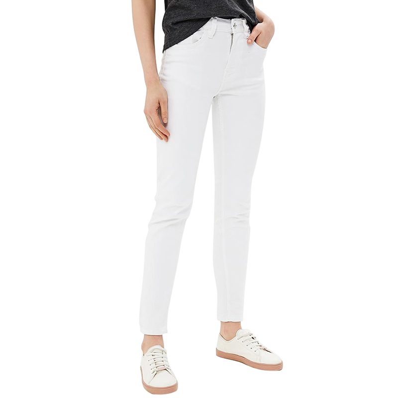 Jeans MODIS M181D00290 women pants  clothes apparel for female TmallFS цены онлайн