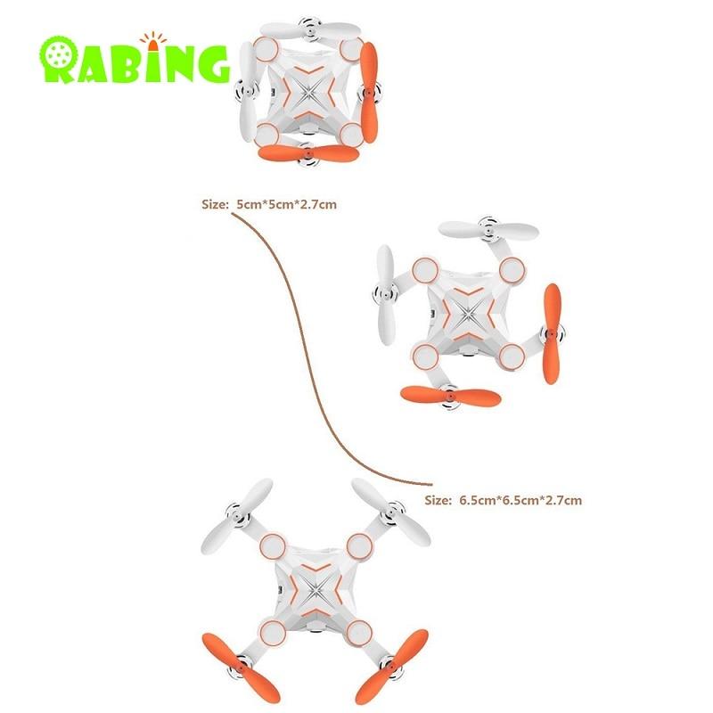 Mini RC Drone 2.4GHZ Quadrocopter კონტროლერი - დისტანციური მართვის სათამაშოები - ფოტო 3