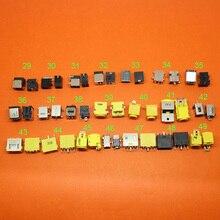 Jack para lenovo x1 1, 1 pçs/lote dc, quadrado, g400 g490 g500 g505 z501 ultrabook x6 x200 x201 x220 e420s e430s ideapad