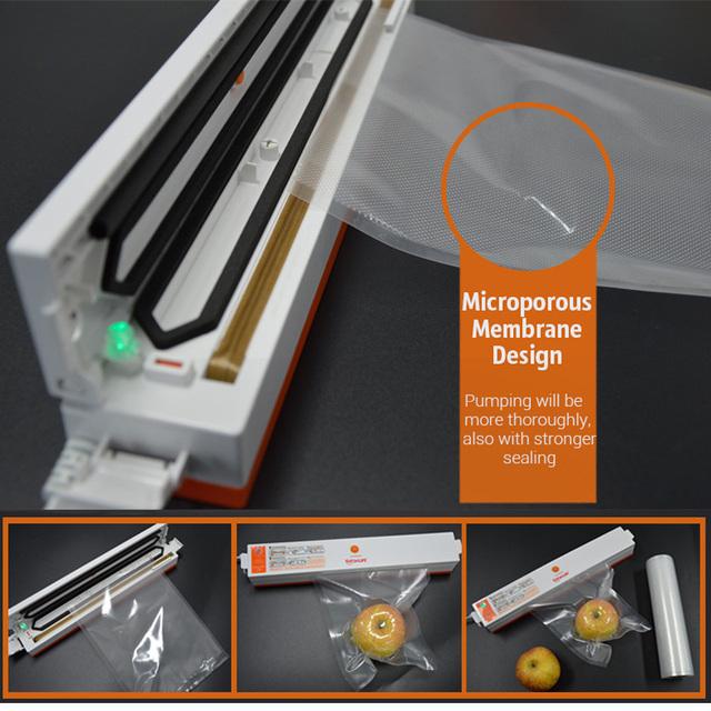 Food Vacuum Storage Bags for Vacuum Sealer Food