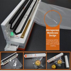 Image 3 - Tinton生活の台所食品真空バッグ保存袋真空シーラー食品新鮮なロング維持 12 + 15 + 20 + 25 + 28 センチメートル * 500 センチメートル 5 rolls/ロット