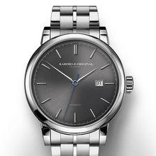 KAREBO Hombres de Negocios de Moda Mismo-Viento Automático Reloj Mecánico Del Reloj