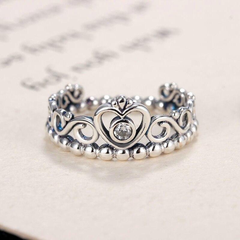 Octbyna Горячая Корона и в форме сердца стильные брендовые кольца для женщин вечерние кольца на палец для женщин очаровательные подарочные украшения Прямая поставка - Цвет основного камня: A1