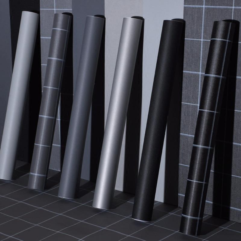 Vinyl Pvc Waterproof Wallpaper Home Bathroom Kitchen Cabinets Paper Shelf  Self Adhesive Wallpaper For Decoration Countertops