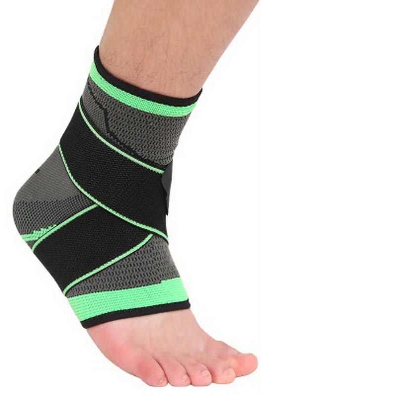 1 ชิ้นผ้าพันคอยืดหยุ่นข้อเท้า Protector สำหรับกีฬาข้อเท้ารั้งเข็มขัด achilles tendon retainer เท้า Guard