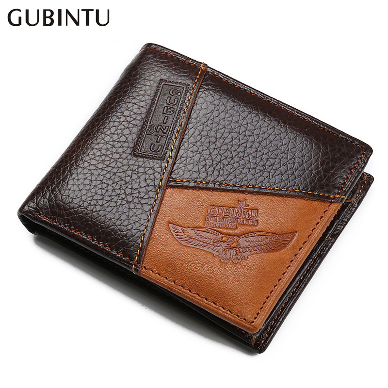 100% Cow Genuine Leather Men Wallet Many Departments Short Bifold Man Wallets Zipper Coin Pocket Card Holder Purses Male Wallets