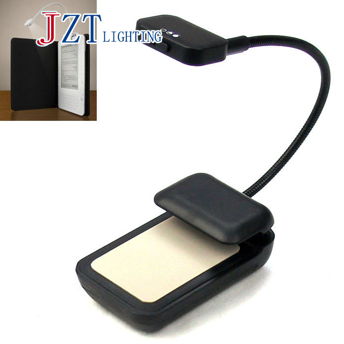 Z Newest Book Light 3 LED E-reader Clip With Flexible Read Light Lamp For Ebook Ereader Kindle For Pocketbook Reading Lamp