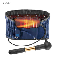 Pudaier Lumbar Traction Belt Lumbar Traction Pain Lower Massager Medical Decompression Back Belt Device Brace Supports