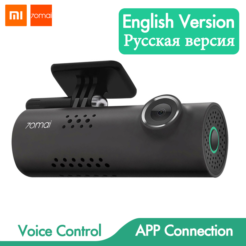 Original Xiaomi 70 Mai Smart WiFi DVR Camera Wireless 70Mai Car Dash Cam 1080P Full HD Night Vision Driving Recorder G-sensor