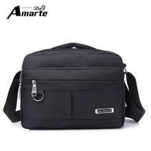 цена на Aramte 2018 Men Bag Fashion Men Crossbody Bags Multifunctional  Nylon Shoulder Bag Waterproof Male Travel Casual Messenger Bags