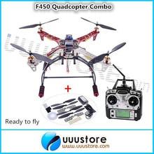 RC FPV RTF Drone Quadcopter FPV Kit Flame wheel + Landing Gear + KK2.5 Controller OSD + Motor + ESC DJI F450 Multicopter Aerial