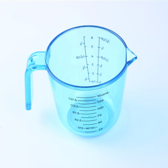 Big Volume Measuring Instruments : Pcs measuring cups food thick plastic transparent scale