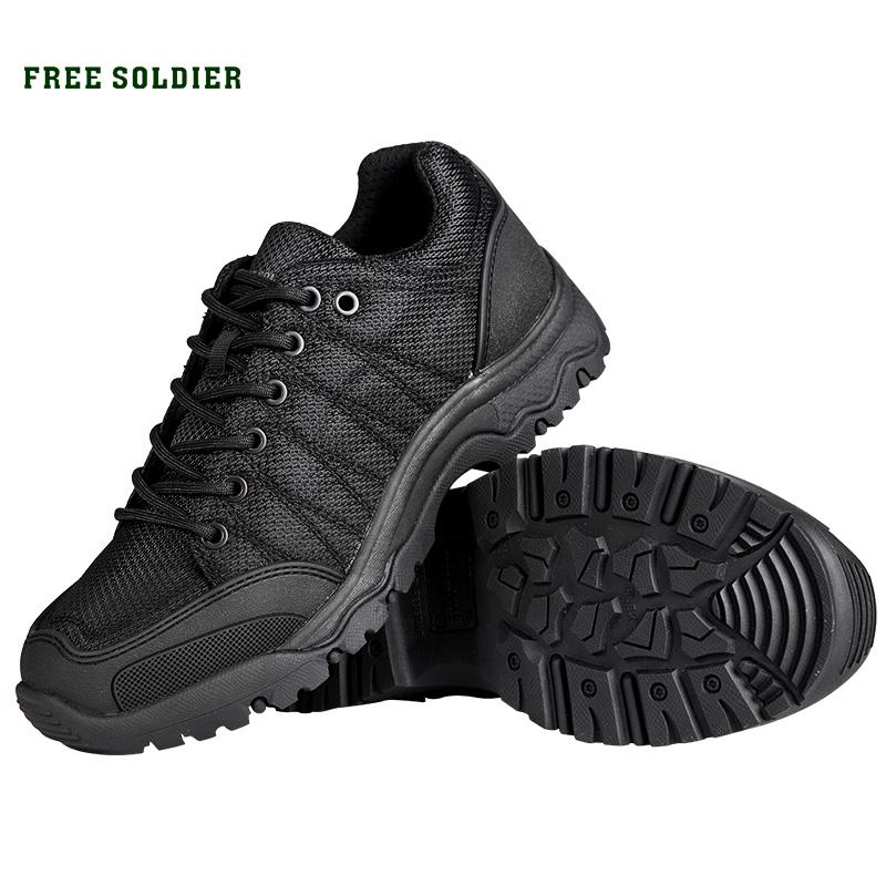 Prix pour FREE SOLDIER Extérieure tactique randonnée escalade hommes chaussures respirant léger montagne bottes