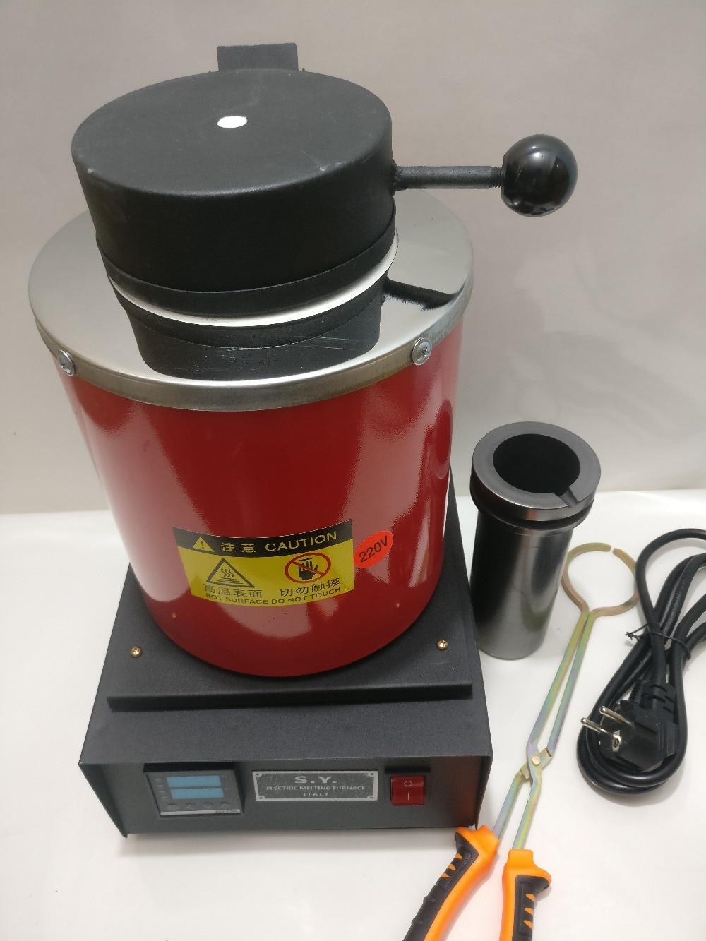 110v/220v, Jewelry Melter, Electric Melting Furnace Gold And Silver Melting Oven With Capacity 2kg,brass Smelting Machine Joyeri