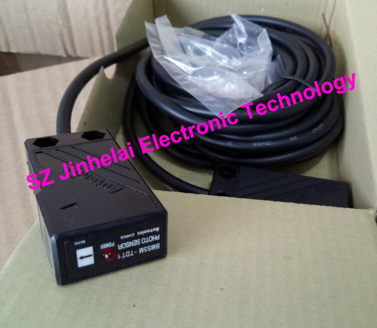 100% New and original  BMS5M-TDT   AUTONICS  PHOTOELECTRIC SWITCH    12-24VDC original otto nicks autonics photoelectric switch ben3m pfr