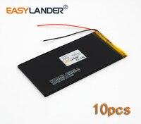 10pcs Lot 3 7V 4000mAh Rechargeable Li Polymer Li Ion Battery For Bluetooth Notebook E Book