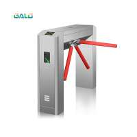 RFID full automatic bridge type tripod turnstile application parking gym building office access control system