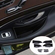 Для Mercedes Benz w222 s-класс S300 S320 S350 S400 автомобиля Интимные аксессуары автомобиля спереди и сзади дверь ящик для хранения Контейнер держатель лотка