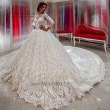 Bride Dresses Ball Gown Wedding Dress Long Sleeve