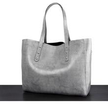 Caker Brand 2017 Women Genuine Leather Tote Bag large Big Shoulder Silver red Bag Fashion Black