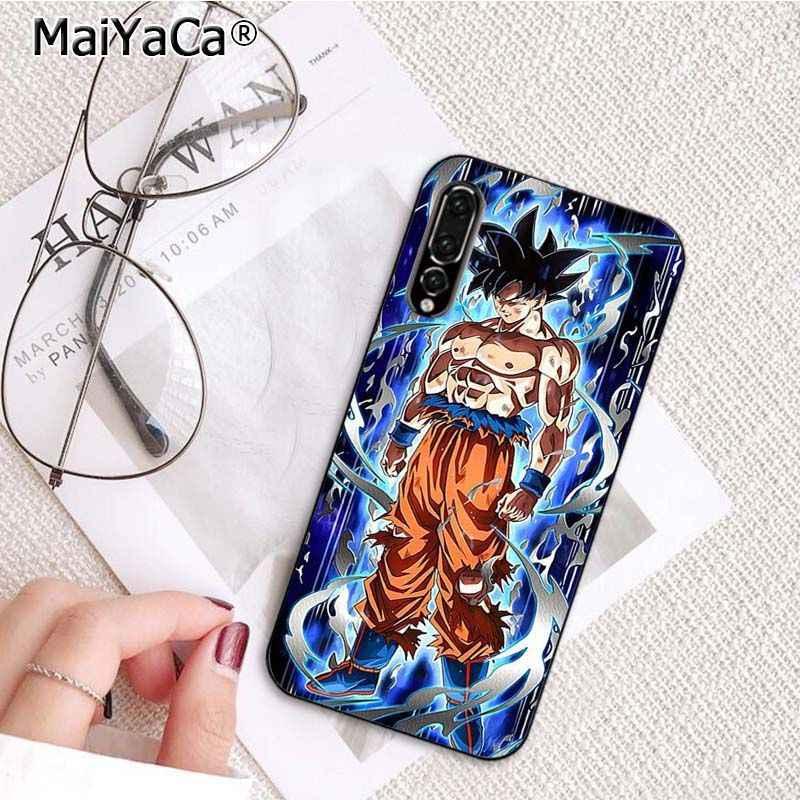 MaiYaCa Dragon Ball Z Super DBZ Goku Fashion Phone Case for Huawei P10 P20 LIte Mate20 Mate10 Lite P20Pro Honor10 9Lite Honor8X