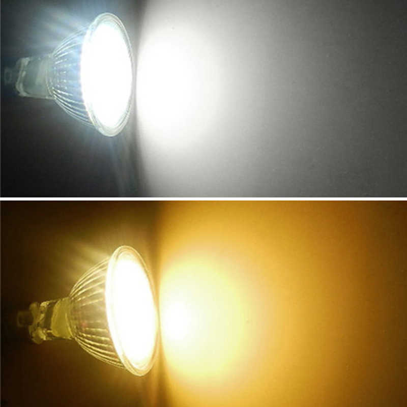1-10Pcs/lot MR11 GU10 COB LED Spot light 7W high power 12V 220V LED spotlight bulb light Warm/Cool White Dimmable MR11 LED Lamp