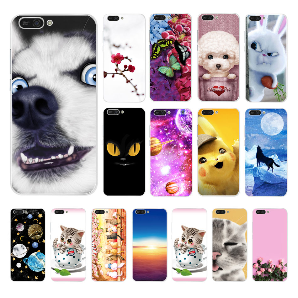 Silicone Case For Huawei Y5 2018 5.45 Inch Silicon Phone Case For Huawei Y 5 Y5 Prime 2018 Cover on Huawei Y5 Lite 2018 DRA-LX5 tote bag