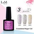 3Pcs Gelartist Granulated Suger Gel Popular Colors Art Gel For Nail Makeup 30 Days Long Lasting