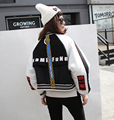 [XITAO] 2016 winter Europe Street wind women stitching loose thickened short padded jacket female batwing sleeve jackets  XFT001